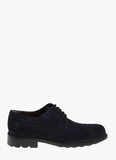 George Hogg Deri Oxford Ayakkabı Lacivert